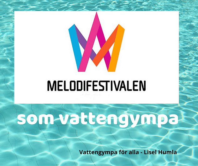 Vattengympa-musik i Melodifestivalen