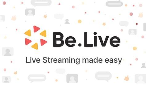 Be.Live för att livestreama på Facebook