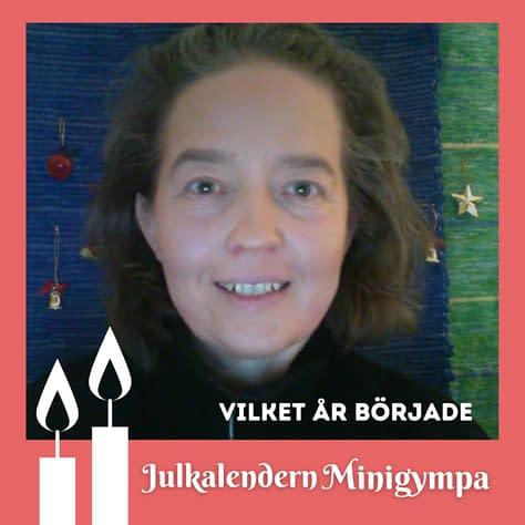 Julkalendern Minigympa med Lisel Humla Liselott Sjöstedt