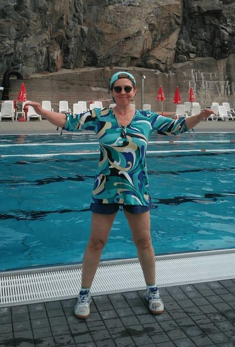 Vattengympa med Lisel Humla