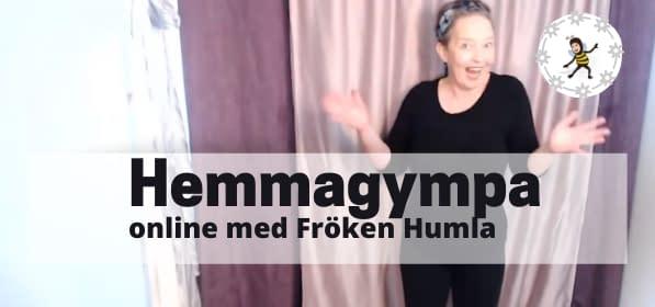 Gympa online med Hemmagympa
