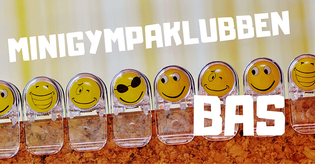 Minigympa-klubben BAS - ansiktsgympa som formar fejset