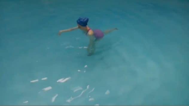 Vattengympa-övningar