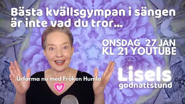 Bästa kvällsgympan med Lisel Humla - Urforma nu