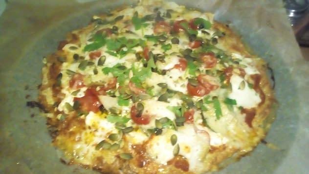 LCHF-pizza är toppen och botten är så god