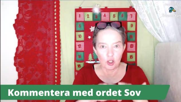 Lisel Humla sänder Lisel godnattstund om bästa kvällsdrycken