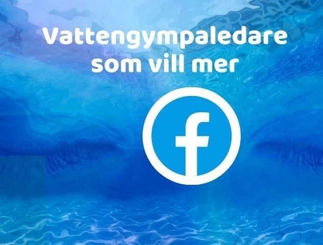 Facebook-grupp för instruktörer i vattenträning