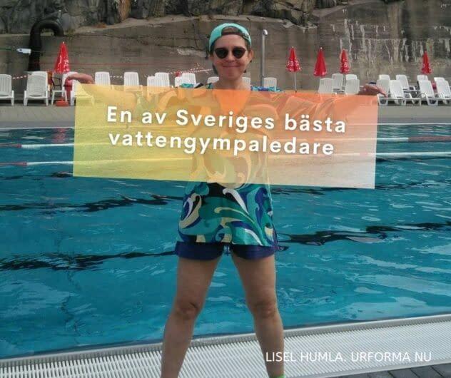Utbildning för instruktörer i vattenträning med Lisel Humla Sjöstedt