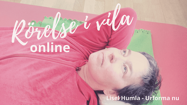 Rörelse i vila online med Fröken Humla alias Lisel Humla