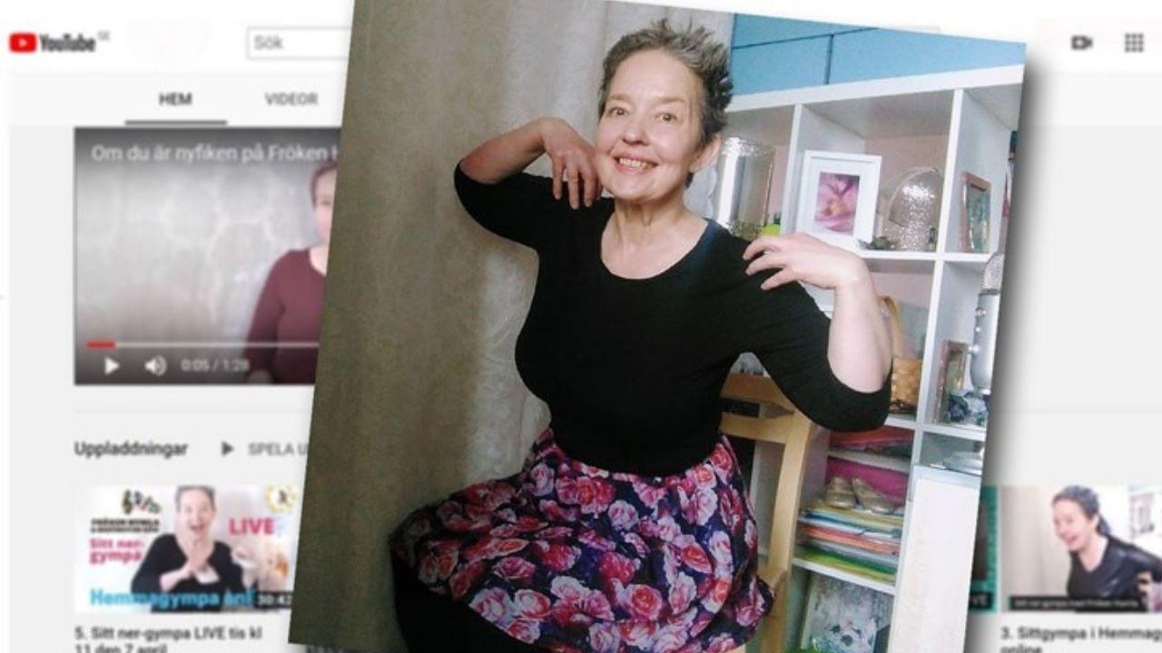 Sitt ner-gympa med Fröken Humla i Hemmagympa online